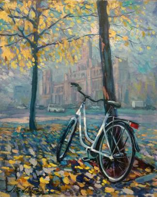 Bici en otoño